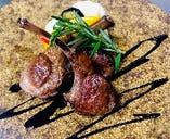 仔羊のソテー・バルサミコソース