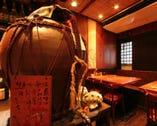 当店オリジナル古酒(咲元25゜) 店内琉球BGMを聴きながら