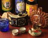 グラス・4合瓶・ハーフボトル・ 一合カラカラ、古酒多種ご用意