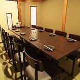 四日市での焼き鳥宴会に最適【《完全個室》テーブル席(最大14名様)】