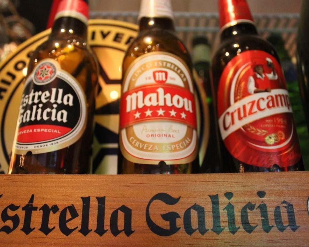「エストレージャ ガリシア」など スペインの地ビールもご用意