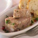 ◆田舎風 豚肉のパテ