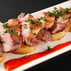 ◆スペイン産イベリコ豚の鉄板焼き