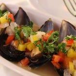 ムール貝のヴィネグレットソース