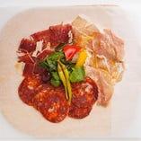 ◆食べ比べ生ハム スペイン VS イタリア