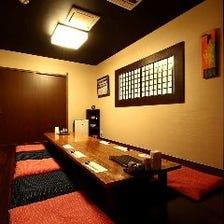 完全お座敷個室は大事なご宴席に最適