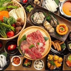 宮城の地産地消 食べ放題 もり鮮 仙台一番町店