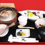 松釜めし定食1,800円(税込)