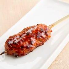 軟骨入り国産鶏つくね串(たれ・塩)