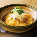 湯葉と長芋のチーズ焼き