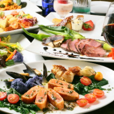 ◆ウェディング二次会プラン◆《飲み放題付》豪華コース料理の『スペシャルプラン』<全9品>5,500円