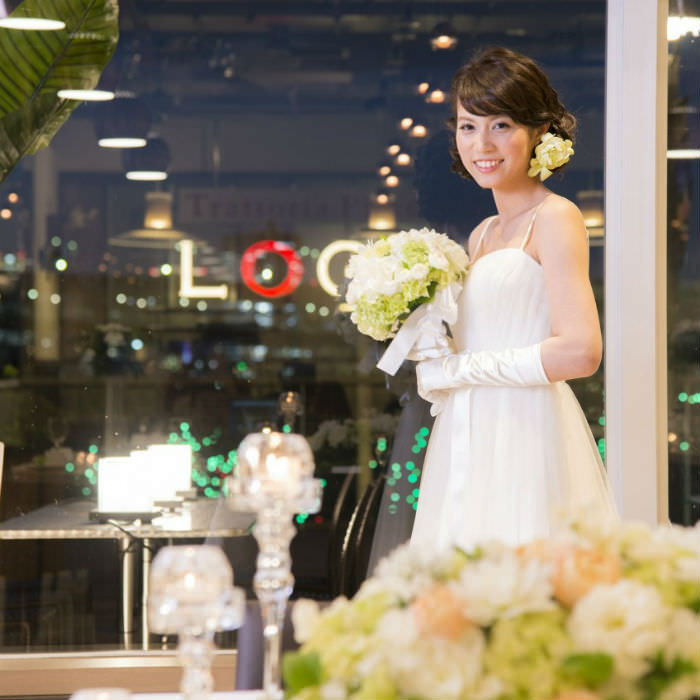 お台場の夜景で結婚式パーティー!