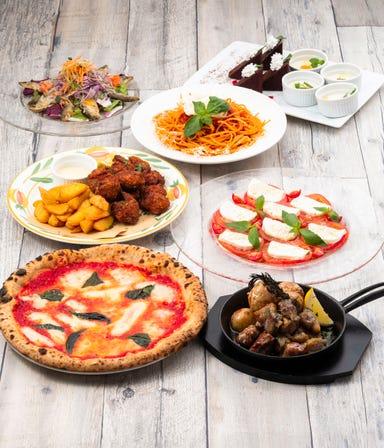 Trattoria Pizzeria LOGIC お台場 コースの画像