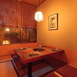 五反田とは思えない、極上の個室空間です。