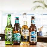 ハワイでお馴染みの瓶ビール『ビッグウエーブ』も置いています