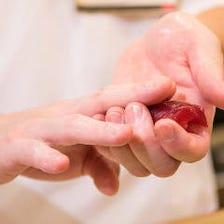 [極上寿司]豊洲直送鮮魚を職人が握る