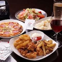 ◆【お食事付プラン】お食事6品+2h飲み放題+マジック付8,000円★