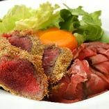 ミニローストビーフ丼