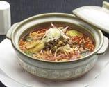 土鍋煮込み担担麺