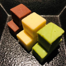 お酒のお供に。自家製チョコレート