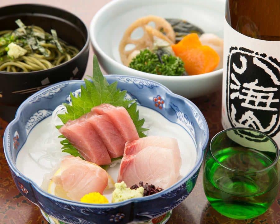 天ぷらとご一緒に旬の食材メニューもございます。