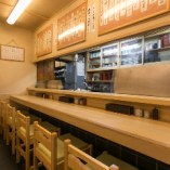 1階カウンター席【1~5名様】天ぷらを揚げる音とよい香りを間近で!