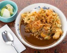 カレーかき揚丼