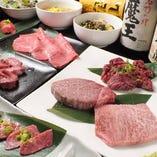 良い肉がバランス良く!コースはご予算に合わせて幅広くご用意!