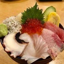 『市場直送!!日替り』海鮮丼