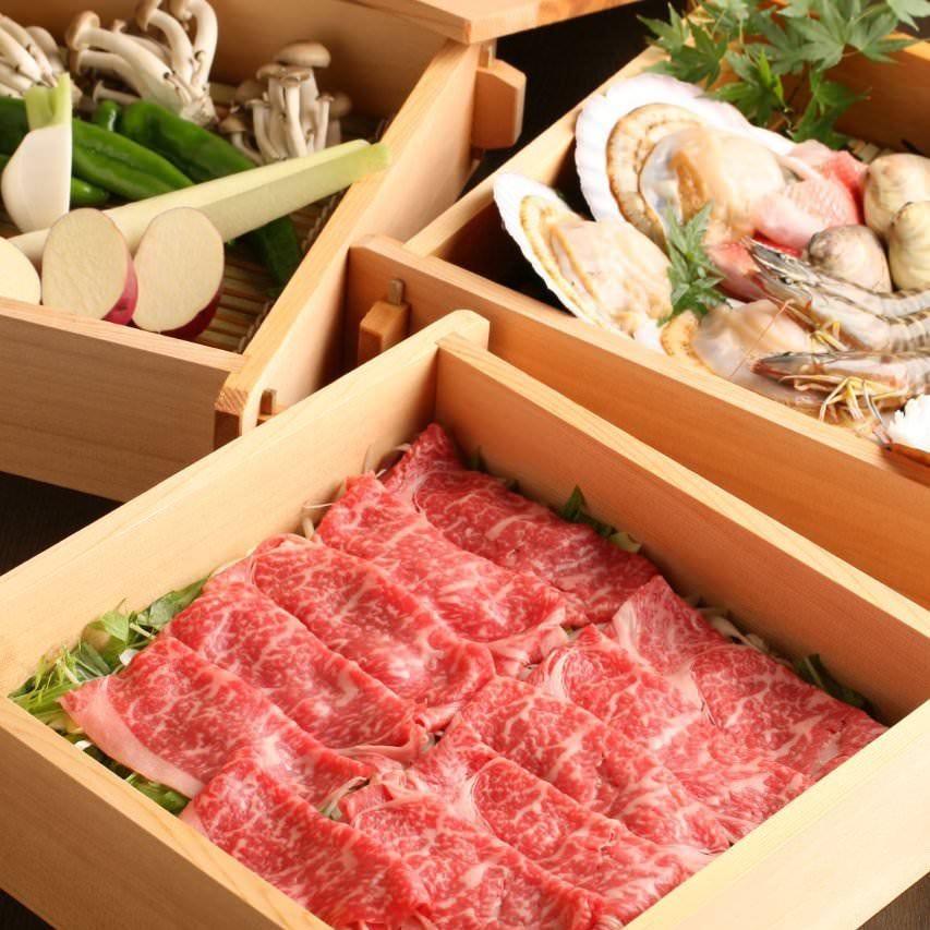 『3段せいろ蒸しコース』[全5品]極上牛ロースや鮮魚、旬の新鮮野菜をヘルシーに味わう