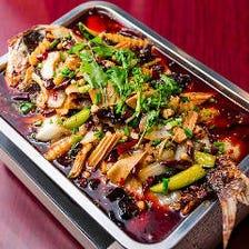 本場中国で大人気!特製魚の火鍋