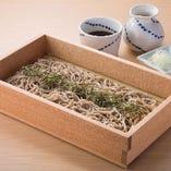 北海道産 石臼挽き生蕎麦【北海道】
