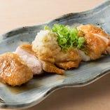 鶏モモおろしポン酢
