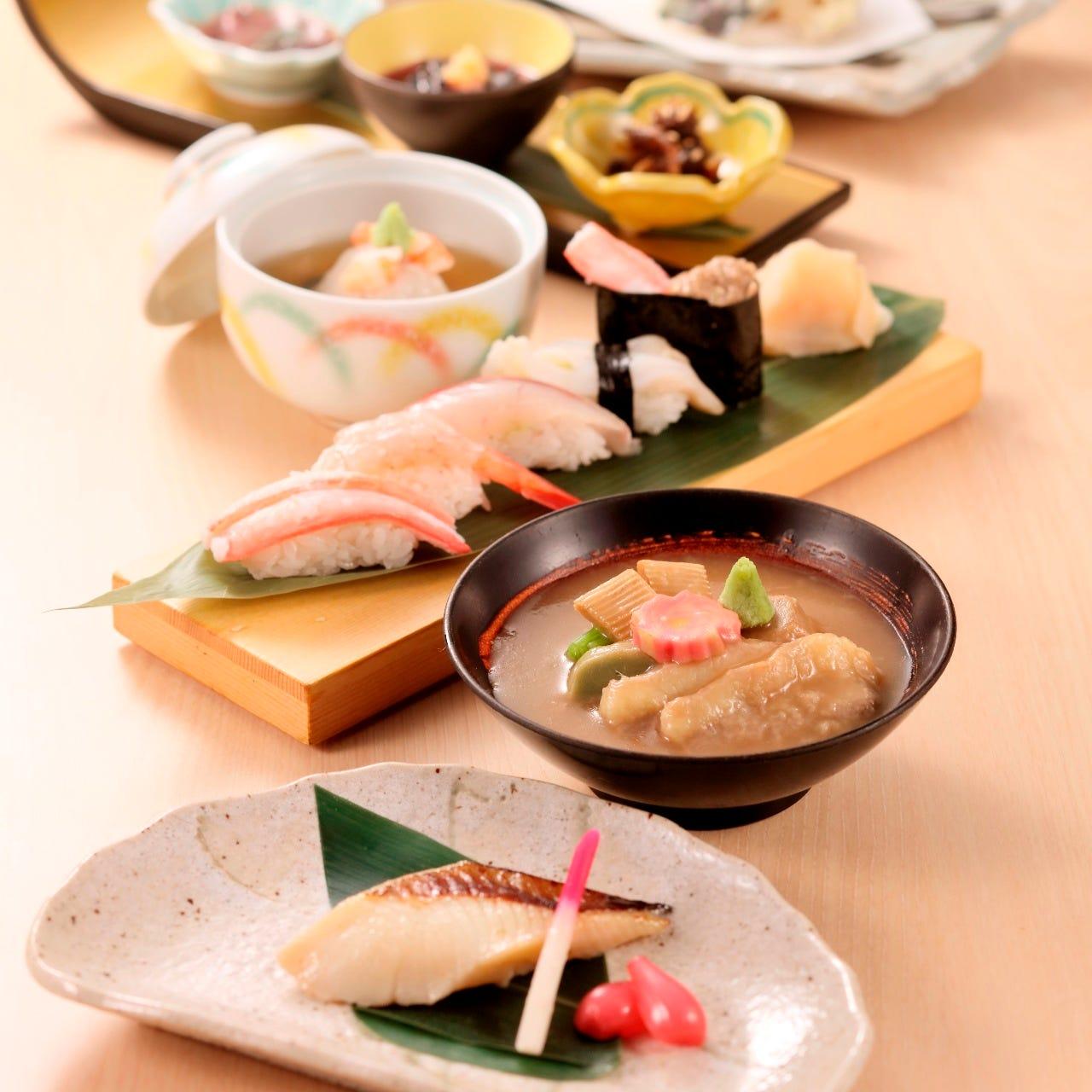 金沢の食材を使用した郷土料理