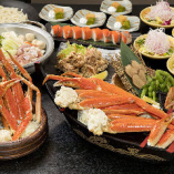 蟹三昧するなら海へ☆ 茹で・炙りなど種類豊富☆