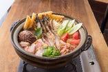 スープが旨い!ブイヤベースカレー鍋!3980円飲み放題付。