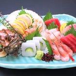 新鮮魚介の一品もご用意しております。