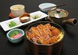 愛知県産 鰻白焼き膳