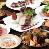 当店名物『カタプラーナ鍋』が味わえるコースが一番人気