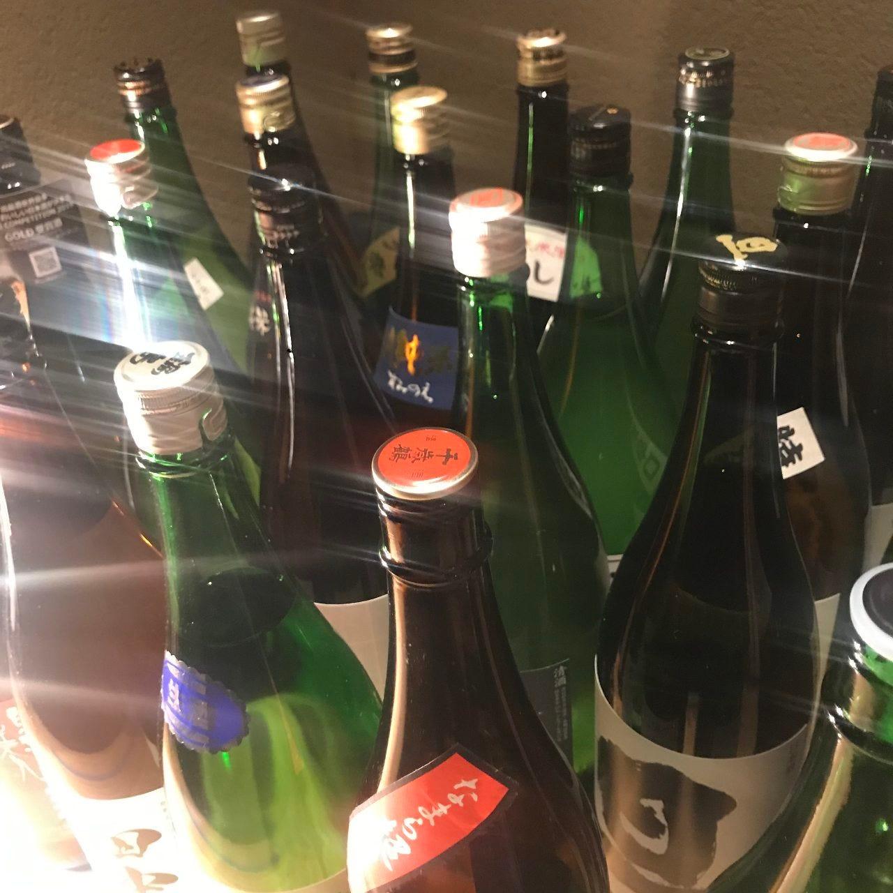 20種類以上の地酒