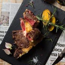 道産肉をはじめとした豊富なステーキ