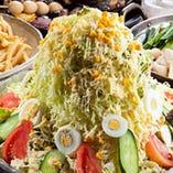 【バカ盛り 野菜サラダ】 赤字覚悟!野菜が足りない方は是非!