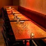 【開放空間】テーブル&ソファー席