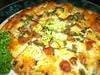 *チョリソとハラペーニョの辛ピザ