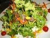 *カリカリベーコンとほうれん草のサラダ