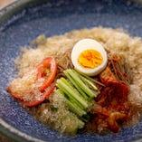 爽快かき氷冷麺