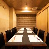【個室】 2名様~お客様のご要望に合わせて席のご用意致します