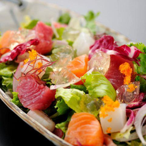 魚介も野菜も新鮮さがウリ♪