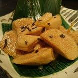 長芋の山葵醤油漬け