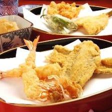 おまかせ天ぷらコース《13品の天ぷらをメインにご堪能いただけるコース》【全18品】12,000円(税抜)